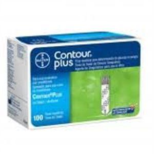 Contour Plus com 100 tiras reagentes (validade das tiras 10.2021)  - Diabetes On - Vendido e Entregue por Diabetic Center