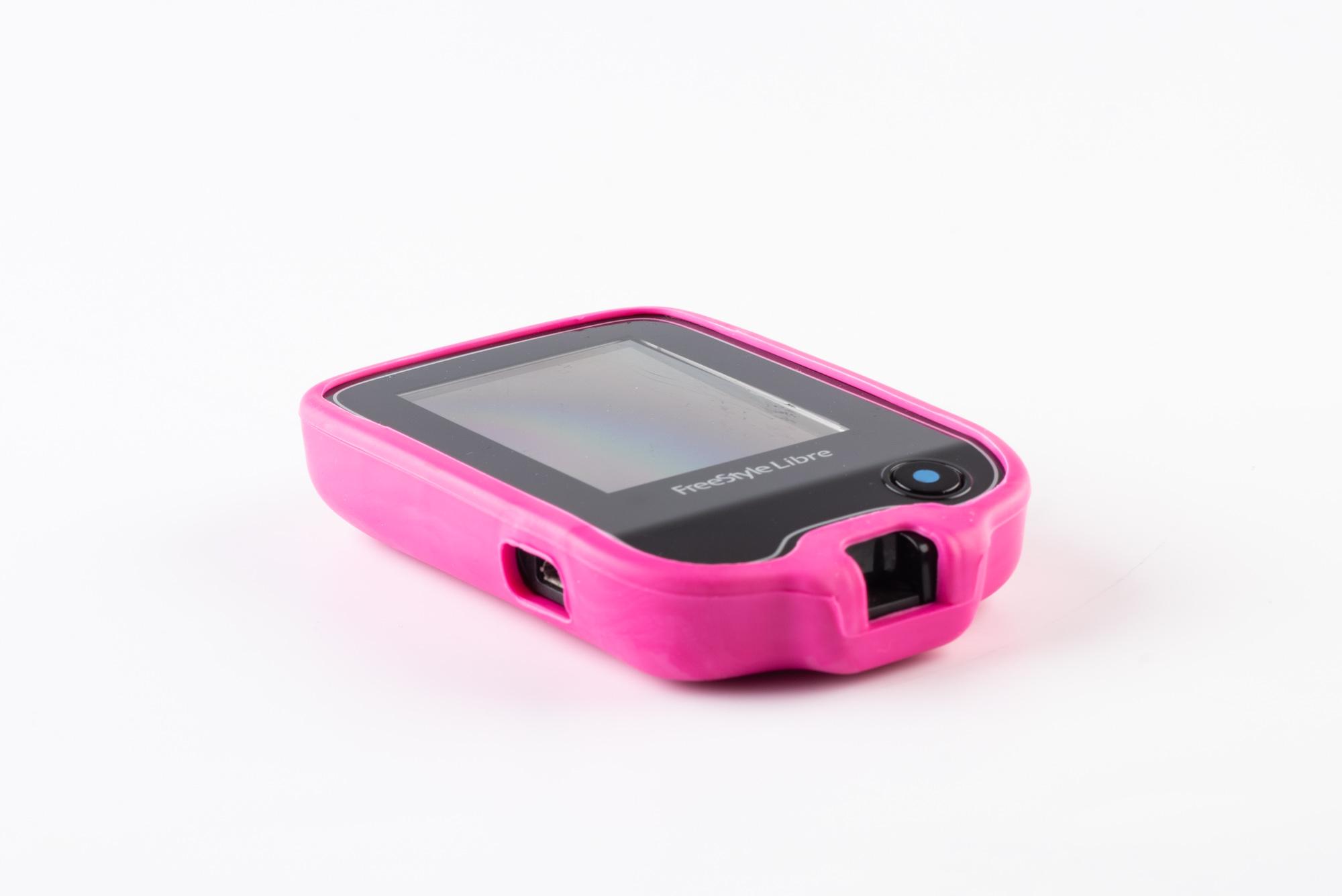 Capinha de Silicone Freestyle Libre Abbott ( ROSA )  - Diabetes On - Vendido e Entregue por Diabetic Center