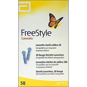 FreeStyle Lancets com 50 lancetas (Freestyle Optium e Freestyle Lite)  - Diabetes On - Vendido e Entregue por Diabetic Center