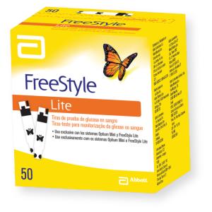 Freestyle Lite com 50 tiras reagentes  - Diabetes On - Vendido e Entregue por Diabetic Center