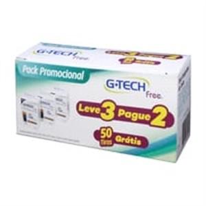 G-Tech Free1 - 3 caixas com 50 tiras  - Diabetes On - Vendido e Entregue por Diabetic Center