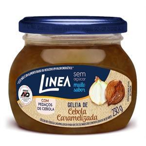 Geléia de Cebola Caramelizada zero açúcar Linea - Vd. 230g  - Diabetes On - Vendido e Entregue por Diabetic Center