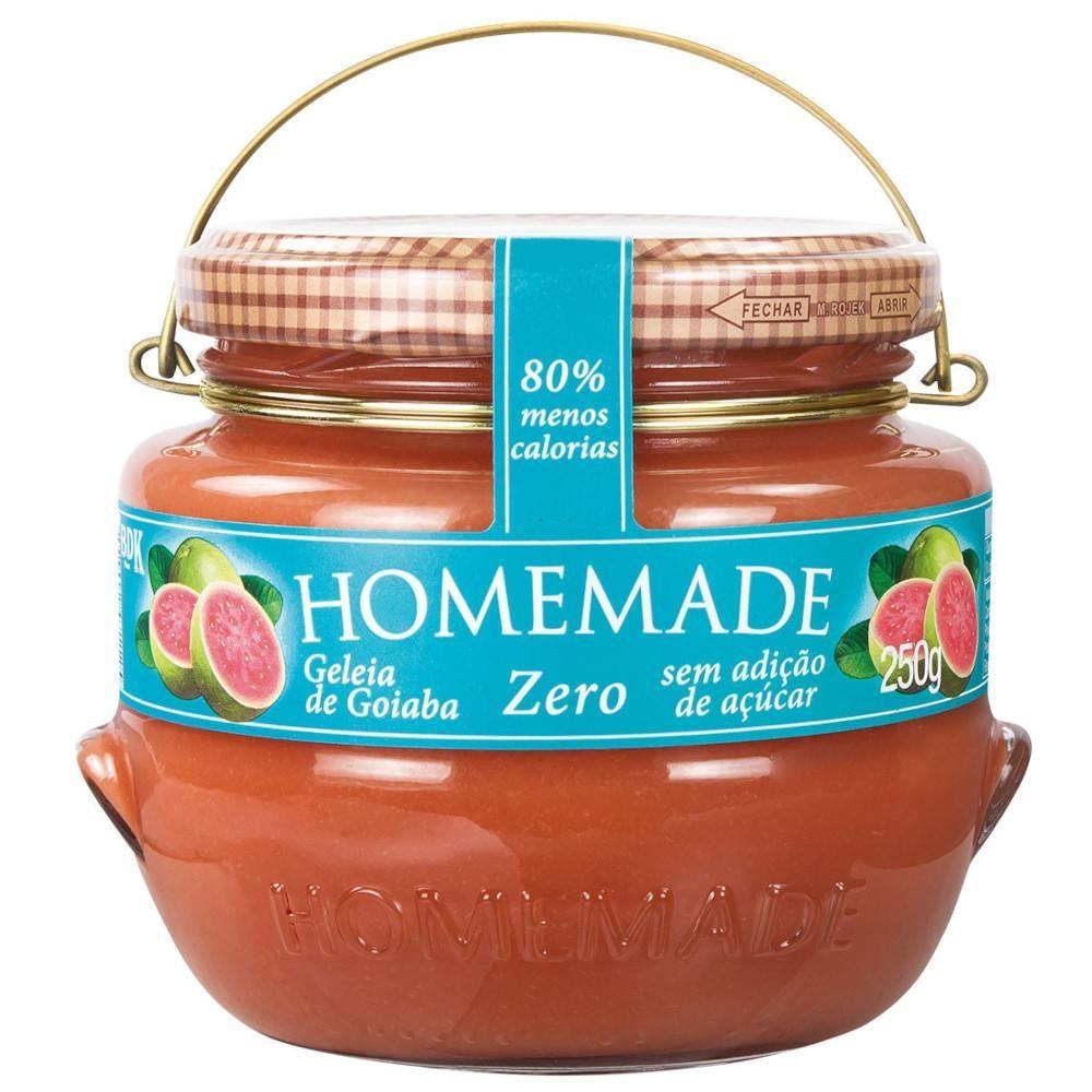 Geleia de Goiaba Zero Homemade 250g  - Diabetes On - Vendido e Entregue por Diabetic Center