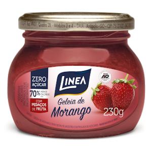 Geléia de morango zero açúcar Linea - 230g  - Diabetes On - Vendido e Entregue por Diabetic Center