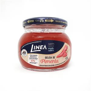 Geléia de pimenta zero açúcar Linea - Vd. 230g  - Diabetes On - Vendido e Entregue por Diabetic Center