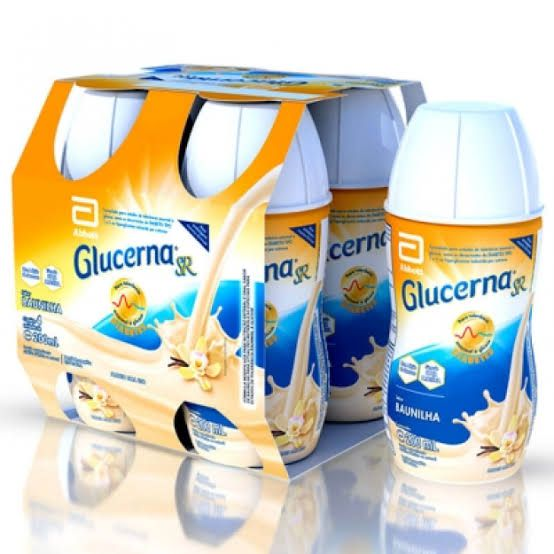 Glucerna SR Sabor Baunilha 200ml com 4 unidades  - Diabetes On - Vendido e Entregue por Diabetic Center