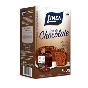 Mistura Para Bolo Linea Sabor Chocolate Com 300 Gramas  - Diabetes On - Vendido e Entregue por Diabetic Center