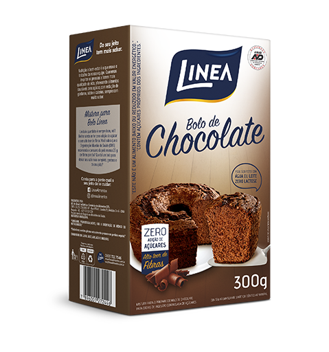 Mistura para Bolo Sabor Chocolate - 300 g  - Diabetes On - Vendido e Entregue por Diabetic Center
