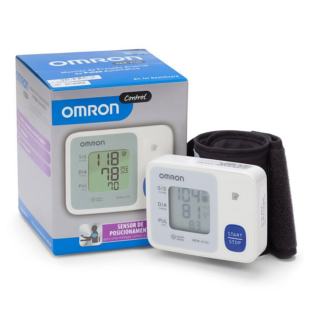 Monitor de Pressão Arterial de Pulso HEM-6124  - Diabetes On - Vendido e Entregue por Diabetic Center