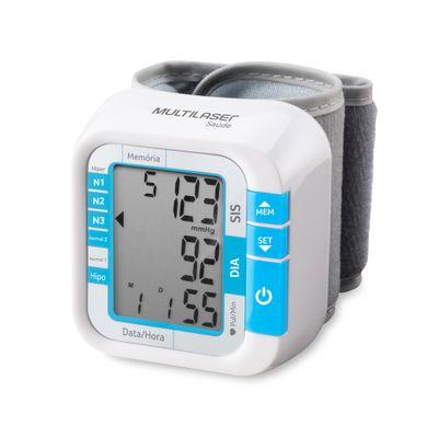 Monitor De Pressão Arterial de Pulso - Multilaser Saúde  - Diabetes On - Vendido e Entregue por Diabetic Center