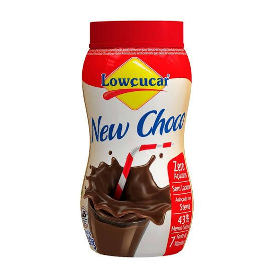 New Choco Achocolatado Zero Açúcar e Zero Lactose Lowçucar 210g  - Diabetes On - Vendido e Entregue por Diabetic Center