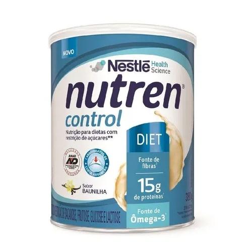 Nutren Control Nestlé Baunilha Diet 380g  - Diabetes On - Vendido e Entregue por Diabetic Center