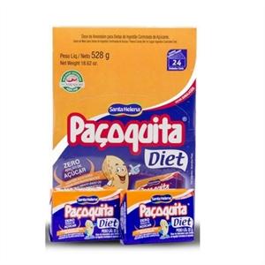 Paçoquita Diet - Display 528G Com 24 unidades de 22G  - Diabetes On - Vendido e Entregue por Diabetic Center