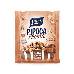 Pipoca Pronta Sabor Chocolate Zero Açúcar Línea  - Diabetes On - Vendido e Entregue por Diabetic Center