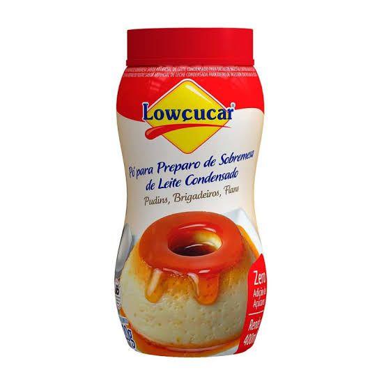 Pó para preparo de Sobremesa de Leite Condensado Lowçucar 220g  - Diabetes On - Vendido e Entregue por Diabetic Center