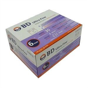 Seringa para Insulina BD Ultrafine 0,3mL (30UI) Agulha 6x0,25mm 31G - Caixa com 100 seringas  - Diabetes On - Vendido e Entregue por Diabetic Center