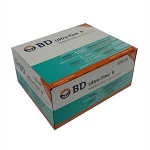 Seringa para Insulina BD Ultrafine 1mL (100UI) Agulha 8x0,3mm 30G - Caixa com 100 seringas  - Diabetes On - Vendido e Entregue por Diabetic Center