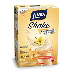 Shake de baunilha zero açúcar Linea Sucralose - Cx. 400g  - Diabetes On - Vendido e Entregue por Diabetic Center
