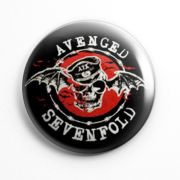 Botton Avenged Sevenfold - 001