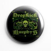 Botton Dropkick Murphys Caveira - 007