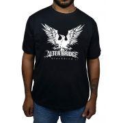 Camiseta Alter Bridge Black Bird - Preta