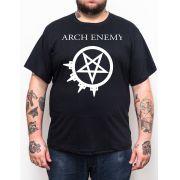 Camiseta Arch Enemy - Preto - Plus Size - Tamanho Grande Xg