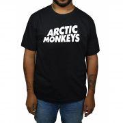Camiseta Arctic Monkeys - Preta