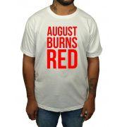 Camiseta August Burns Red - Branca