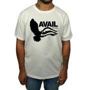Camiseta Avail Over The James - Branca