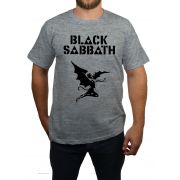 Camiseta Black Sabbath - Cinza Mescla