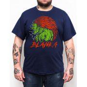 Camiseta Blanka Street Fighter - Tamanho Grande Xg