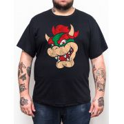 Camiseta Kopa Bowser - Plus Size - Tamanho XG
