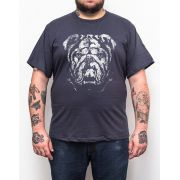 Camiseta Bulldog - Plus Size - Tamanho XG