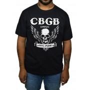 Camiseta CBGB - Caveira