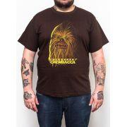Camiseta Chewbacca Star Wars - Plus Size - Tamanho XG
