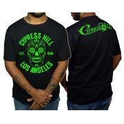Camiseta Cypress Hill - Preto