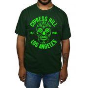 Camiseta Cypress Hill - Verde Musgo