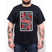 Camiseta Darth Vader - Plus Size - Tamanho XG