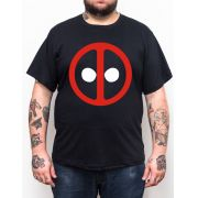 Camiseta Deadpool V2 - Plus Size - Tamanho XG