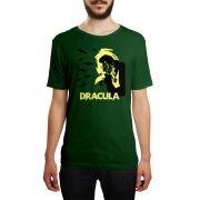 Camiseta Dracula Verde Musgo
