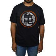 Camiseta Dragonball - Logo Desgastado