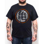 Camiseta Dragonball Logo - Plus Size - Tamanho XG