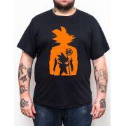 Camiseta Dragonball - Plus Size - Tamanho XG