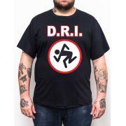 Camiseta DRI - Preto - Plus Size - Tamanho Grande Xg