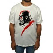 Camiseta God of War - Kratos - Branca