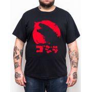 Camiseta Godzilla - Tamanho Grande Xg