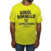 Camiseta Gogol  Bordello - Escolha a Cor