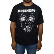 Camiseta Green Day - Preta