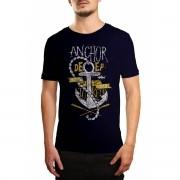 Camiseta Holdfast Anchor Azul Marinho