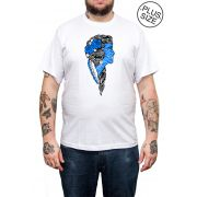 Camiseta Holdfast Bride - Branco - Plus Size - Tamanho Grande XG